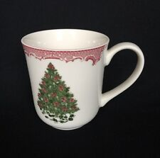 Johnson Brothers Old Britain Castles Pink Christmas Green Tree Cup Victorian