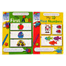 Children's A4 Educational Wipe Away Books - My First ABC & My First Numbers