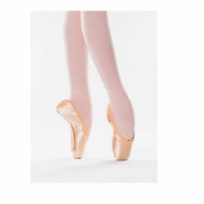 Pink satin Freed Classic Pro 90 pointe shoes - Size 4.5XX Maker B
