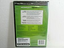 Webroot Secure Anywhere Internet Security PC MAC Mobile Devices Windows 8 New