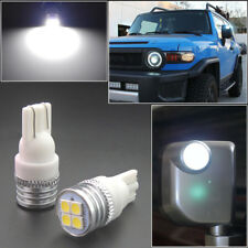 2 Bright HID White LED Side Mirror Light Bulbs Fit for 2007-14 Toyota FJ Cruiser