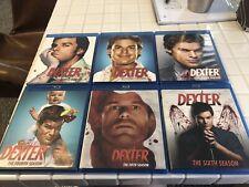 Dexter Complete Seasons 1-6 Blu-ray 1, 2, 3, 4, 5, 6