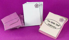 Dollhouse Miniature 1:12 Scale Box of Stationary and Envelopes