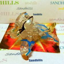 Bakugan Kilan Leoness Clear Haos Gold Shield Bakutech 560G & cards