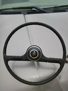 Steering Wheel Jeep Willys Pick Up Station Wagon OEM Vintage 50's 60's Horn