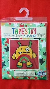 Tapestry, sewing starter kit by DMC Gobelin. 'Patch'. Ideal present 6yrs+.