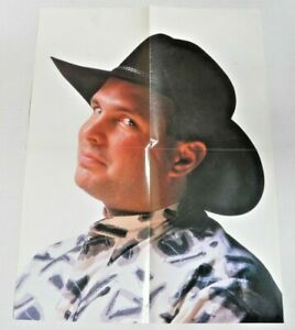 GARTH BROOKS Vintage Portrait POSTER (21 x 16-inch, Country Music Promo)