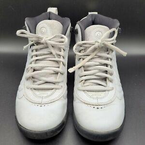 Nike Air Jordan Jumpman Pro GS Basketball Gray Black 907973-004 Boy Size 7 Y