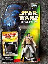 Star Wars POTF Freeze Frame Lando Calrissian Figurine 1997 Sealed Vtg NISC
