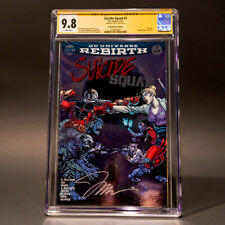Suicide Squad #7 CGC 9.8 SS Torpedo Comics Edition Jim Lee Foil Cover Variant