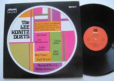 LP Lee Konitz - Duets - mint- Eddie Gomez Jim Hall Joe Henderson Karl Berger