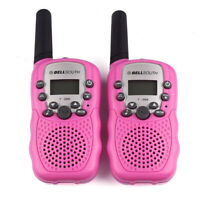 2pcs Wireless Walkie-talkie Eight Channel 2 Way Radio Intercom 5KM Pink