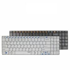 Multi-Media Programmable 5.6mm Ultra-Slim Wireless Keyboard For Laptops Desktops
