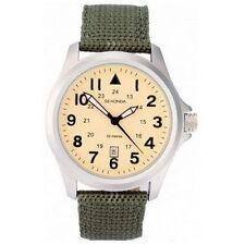 Sekonda Stainless Steel Case Nylon Strap Wristwatches