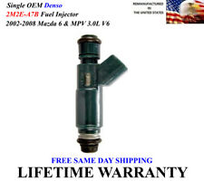 89-98 MAZDA MPV  3.0L OEM  FUEL INJECTOR 195500-1980 ULTRASOUND CLEANED TESTED