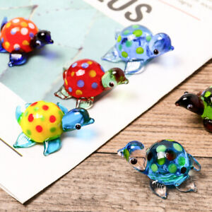 Aquariums Turtles Fish Tank Decoration Glass Ornaments Accessories  Multicolor
