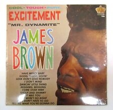 JAMES BROWN EXCITEMENT MR DYNAMITE 1964 SEALED MONO VINYL LP KING 780 Soul Funk