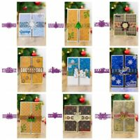 Christmas Wrap Die Closed Card Metal Cutting Dies DIY Scrapbooking Paper Cards