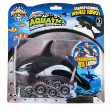 """5"""" Orca Robot Action Figure Animals Transformer Toys Gifts Collectibles"""