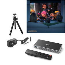 Mini Android Projector DLP WiFi 1080P HD Home Theatre Cinema Bluetooth Portable