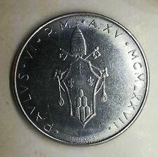 100 lire 1977 Citta del Vaticano Paolo VI circolata buona conservazione