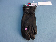 Gants sport cuir noir femme RACER MILANO Taille M