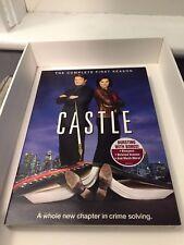 Castle: The Complete First Season (DVD, 2009, 3-Disc Set) ABC Crime Drama