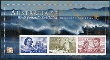 Australia 1727d-1728d,MNH. Early navigators:Tasman,Cook,Finders,Parker King