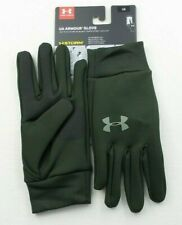 Under Armour Men's Liner Glove L Green Storm Water Resistant Touchscreen MRP$25