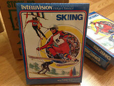 SKIING -- for INTELLIVISION Video Game System FRESH CASE --  NOS - NIB