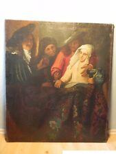 Antikes Ölgemälde Gemälde Kopie Jan Vermeer