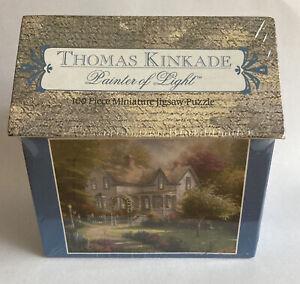 "Thomas Kinkade ""Painter of Light"" 100 Piece Miniature Jigsaw Puzzle Sealed"