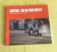 KARTING GUN ON FOUR WHEELS RACING  Ed Radlauer Vintage Softcover 1971 Car Book