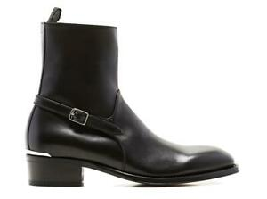 Alexander McQueen Cuban Boots Size UK 9 (EUR 43) Shoes rrp £890- EX-DISPLAY