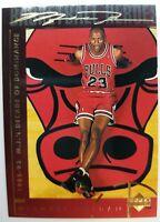 1994 94 Upper Deck Basketball Heroes Michael Jordan #44, Gold Signature, Sharp!