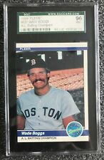 1984 FLEER WADE BOGGS BATTING CHAMPION BOSTON RED SOX #630--SGC 96=9=MINT!!!
