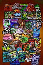 40, Stickers, Decals, Jurassic, Park, World, Movie, Dinosaur, T-Rex, Clever Girl