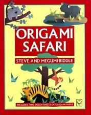 Origami Safari by Steve Biddle and Megumi Biddle (Paperback) Perfect for Kids!