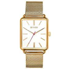Zinzi Vintage verguld retro horloge witte wijzerplaat ZIW907M