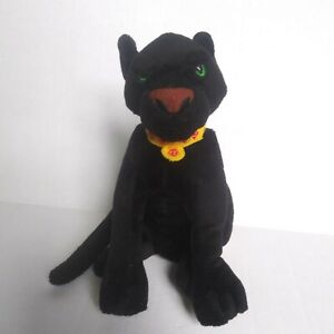 "RAMA Black Panther Cat 1998 Warner Brothers  KING AND I - 7 "" Plush"