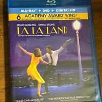 La La Land (Blu-ray/DVD, 2017, 2-Disc Set) No Digital Copy/Code