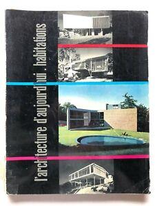 L'architecture d'aujourd'hui n. 49 1953 Rivista Habitations Neutra Rudolph raro