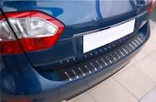 VW CADDY 2004-2014 Ladekantenschutz AF mit Abkantung und Carbon-Style