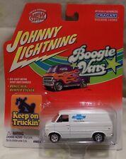 Johnny Lightning BOOGIE VANS 1977 CHEVY G-20 DIECAST 1:64 PARTS/SERVICE VAN
