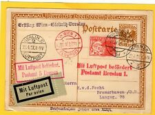 More details for ludwig van beethoven 1927 centenary flight cover vienna to  berlin luftpost w276