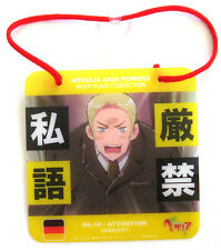 Hetalia Axis Powers Germany Attention No. 10 Multi Plate Collection Anime NEW