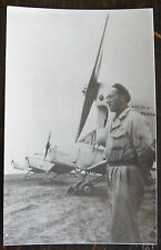 AVIATION, PHOTO, CAUDRON C-232, LUCIOLE, PILOTE POSE, --