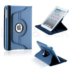 360 Degree Rotating PU Leather Case Cover with Swivel Stand For iPad Mini 1 2 3