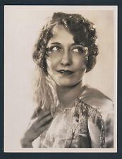 BEAUTIFUL DOROTHY SEBASTIAN OVERSIZE DBLWT PHOTO BY LOUISE - 10X13 LARGE 1920'S