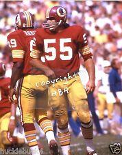 CHRIS HANBURGER photo in action Washington Redskins HOF (c)